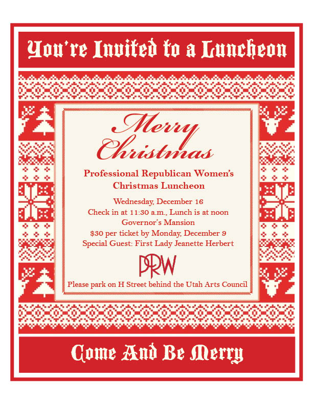 Christmas Invitation PRW